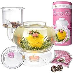 Teabloom Eternal Love Flowering Tea Teapot Gift Set