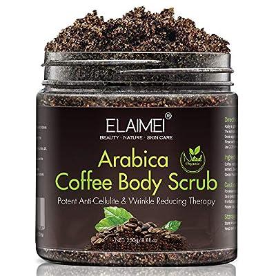 Exfoliante de café natural