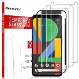 [3 Pack] QITAYO Screen Protector for Google Pixel 4, [Tempered...