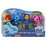 Famosa - Set de cuatro figuras de los protagonistas de Blues Clues, para mayores de 3 años, Multicolor (BLU04000)
