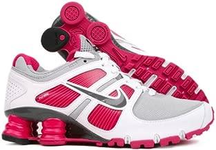 Nike Shox Turbo+ 11 Grey/White/Pink Womens Running Shoes 407268-005