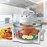 Rapid Wave Convection Countertop Halogen Oven 17 Quart For Easter Day with Ring