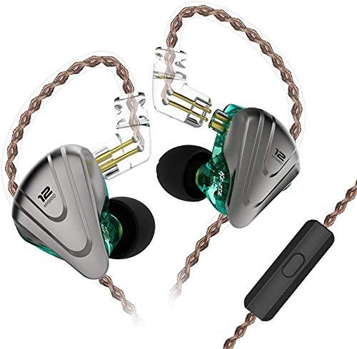KZ ZSX 5BA + 1DD Auricular híbrido en la Oreja 12 Unidad de...