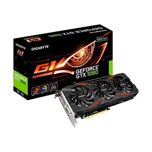Gigabyte GeForce GTX 1080 G1 Gaming 8G (Renewed)