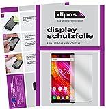 dipos I 2X Schutzfolie klar kompatibel mit Oukitel Mix 2 Folie Bildschirmschutzfolie