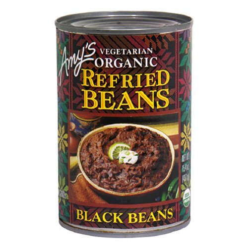 Amy's Organic New Free Shipping Refried Black Beans 15.4-Ounce of Cans Manufacturer direct delivery 12 Pack