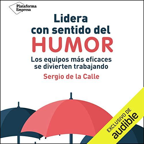 Diseño de la portada del título Lidera con Sentido del Humor