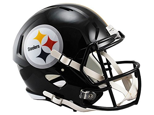 Riddell NFL Pittsburgh Steelers Full Size Replica Speed Helmet, Medium, Yellow