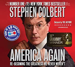 America Again audiobook cover art