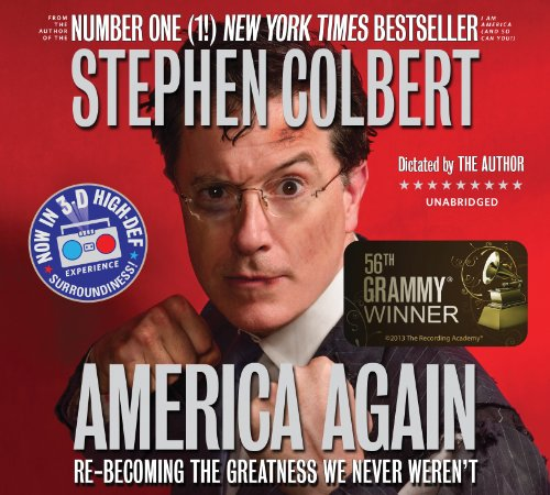 America Again Audiobook By Stephen Colbert cover art