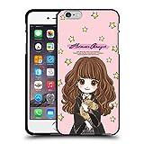 Head Case Designs Licenciado Oficialmente Harry Potter Hermione Granger Reliquias de la Muerte XXXVII Funda de Gel Negro Compatible con Apple iPhone 6 Plus/iPhone 6s Plus