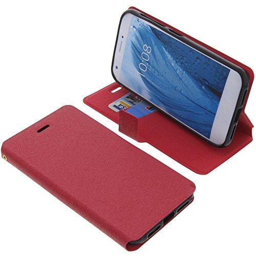 foto-kontor Tasche für ZTE Blade A512 Book Style rot Schutz Hülle Buch