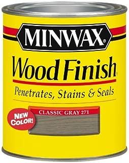 Minwax 70048 Wood Stain Classic Gray, Quart by Minwax