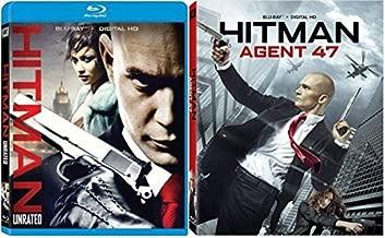 Hitman Unrated & Hitman: Agent 47 - Blu ray + Digital HD - 2 Pack