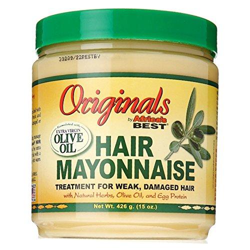 Afriques Meilleur Org. Mayo 440 ml Jar (Traitement) (pack de 2)