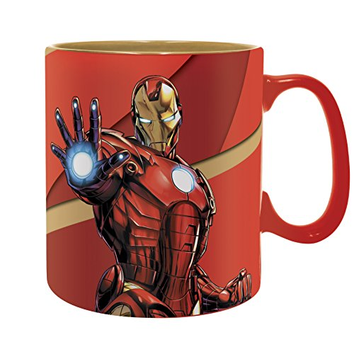 """ABYstyle - MARVEL - Tazza - 460 ml - """"Iron Man Armored"""""""