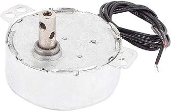 X-DREE Horno de microondas alto rendimiento CW/CCW esencial 3 hilos síncrono bien hecho 4W 30-32RPM AC 220-240V(890-37-09-c9a)