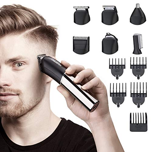 Tiklean 6 In 1 Beard Mustache Trimmers Electric...