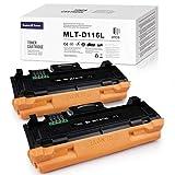 SWISS TONER 2 cartuchos MLT-D116L compatibles con Samsung D116L para Samsung Xpress SL M2835dw M2625d M2825nd M2885fw M2825dw M2675 M2675fn M2875fd M2626 M2626d M267676 2676n Impresora M2676fh.