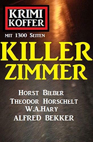 Killer-Zimmer: Krimi Koffer mit 1300 Seiten