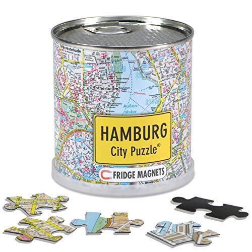 City Puzzle Hamburg Magnets Premium Puzzle Magnetpuzzle Spiele Städtepuzzle Souvenir