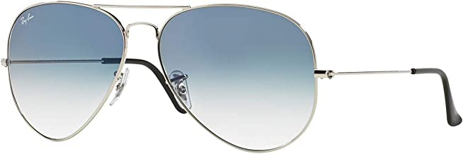 Ray-Ban Aviator 3025 Silver Frame w/ Blue Gradient RB 3025 003/3f 62mm Large