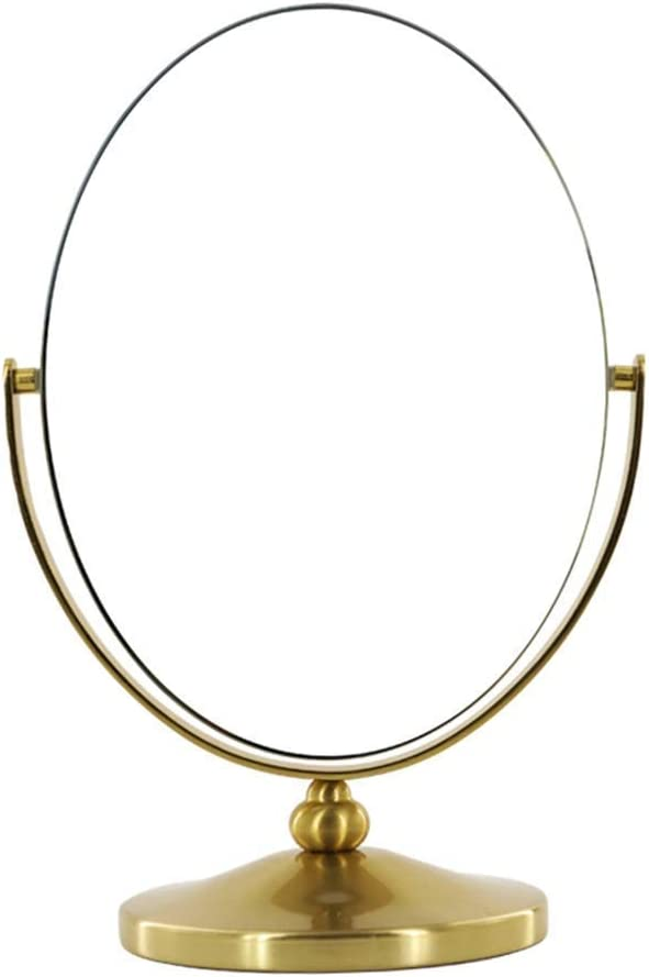 WFY Mirrors Makeup Travel Compact 360°Rotation Makeu Inexpensive Product Oval Frame