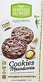 Le Moulin du Pivert Cookies Chocolate Blanco & Macadamia, 175g (Bio)