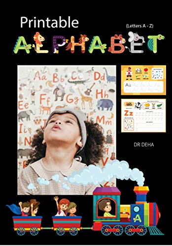 Printable Alphabet: (Letters A - Z) (English Edition)