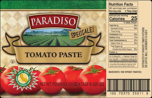 Tomato Paste (Pouch Packaged)