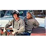 Dumb & Dumber (1994) 8inch x 10inch Photo Jim Carrey & Jeff Daniels on Scooter kn