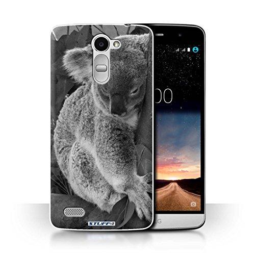 Hülle Für LG Ray/X190 Zoo-Tiere Koala Design Transparent Ultra Dünn Klar Hart Schutz Handyhülle Hülle