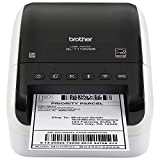 Brother QL-1110NWB Professional Wide Format Thermal Label Printer, Shipping, Postage & Barcode with Wireless Connectivity (RQL1110NWB Renewed)