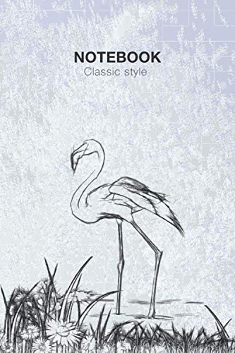 Notebook classic style: Note book for Painting, Drawing, Sketching, Writing or Doodling, 100 Pages, 6x9 in (Classic Style)