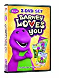 Barney Loves you (You Can Be Anything / I Love My Friends / We Love Our Family) (3-DVD Set)