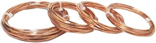 Modern Findings Assorted Square Copper Wire 10 Ft each size (Dead Soft)