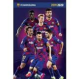 Erik - Póster Grupo FC Barcelona 2019/2020 (91,5 x 61 cm)