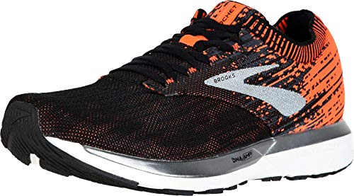Brooks Ricochet, Scarpe da Corsa Uomo, Multicolore (Black/Orange/Ebony 038), 45 EU