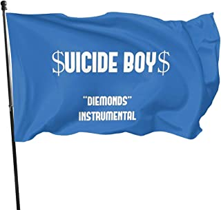 Ghostemane Lil Pump Uzi Xan Yachty Pouya Gbc Peep Polyester Flag, Banner Flags