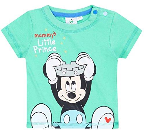 Tee shirt manches courtes bébé garçon Mickey Vert de 3 à 23mois (6 mois)