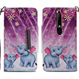 nincyee Wallet Case for Nokia 6 2018/Nokia 6.1,Cute Animals