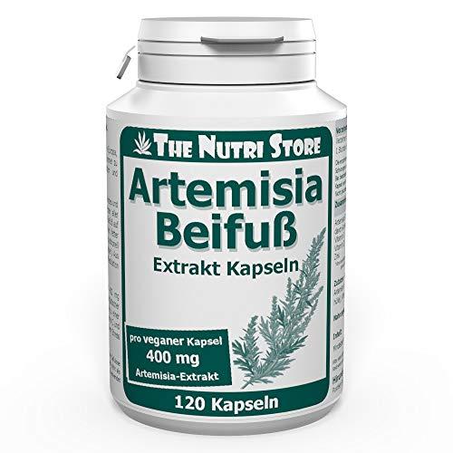 Artemisia Beifuß 400 mg Extrakt vegane Kapseln 120 Stk.