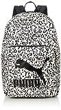 PUMA 7735305 Mochila Originals para Unisex Adulto, White/Animal Print, Talla Única