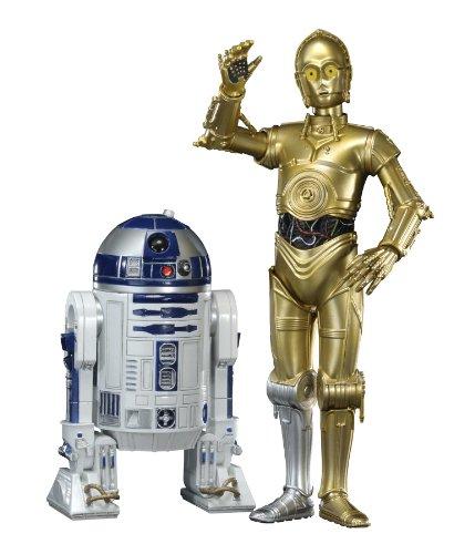 [UK-Import]Star Wars - 1/10th Scale C3-PO & R2-D2 Artfx Statue