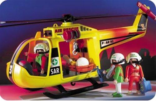 3845 - PLAYMOBIL - Rettungshubschrauber