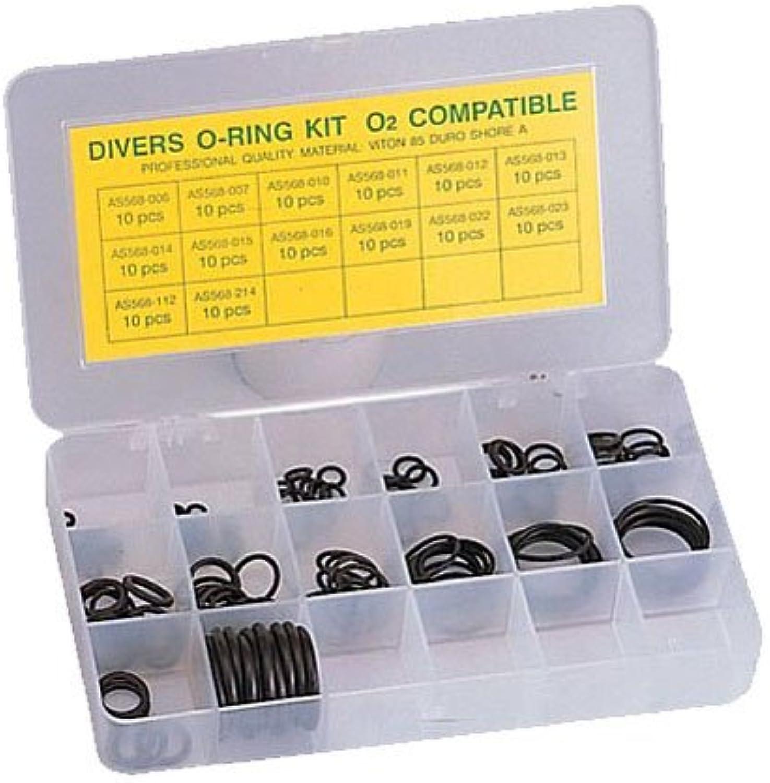 Spare 140 Viton O-rings Kit for Scuba Dive Nitrox Regulator Octo Gear Service