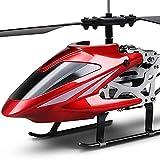 N&G Decoración del hogar Mini simulación Anti-caída Helicóptero RC Helicóptero de Control Remoto con luz LED Gyro Juguete de helicóptero de 3,5 Canales con Control Remoto