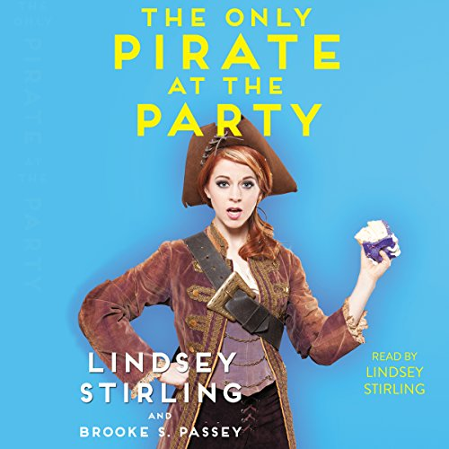 The Only Pirate at the Party audiobook cover art