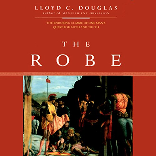 The Robe audiobook cover art