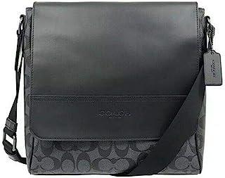 Coach Houston Map Signature Messenger Bag - #573 - Charcoal/Black